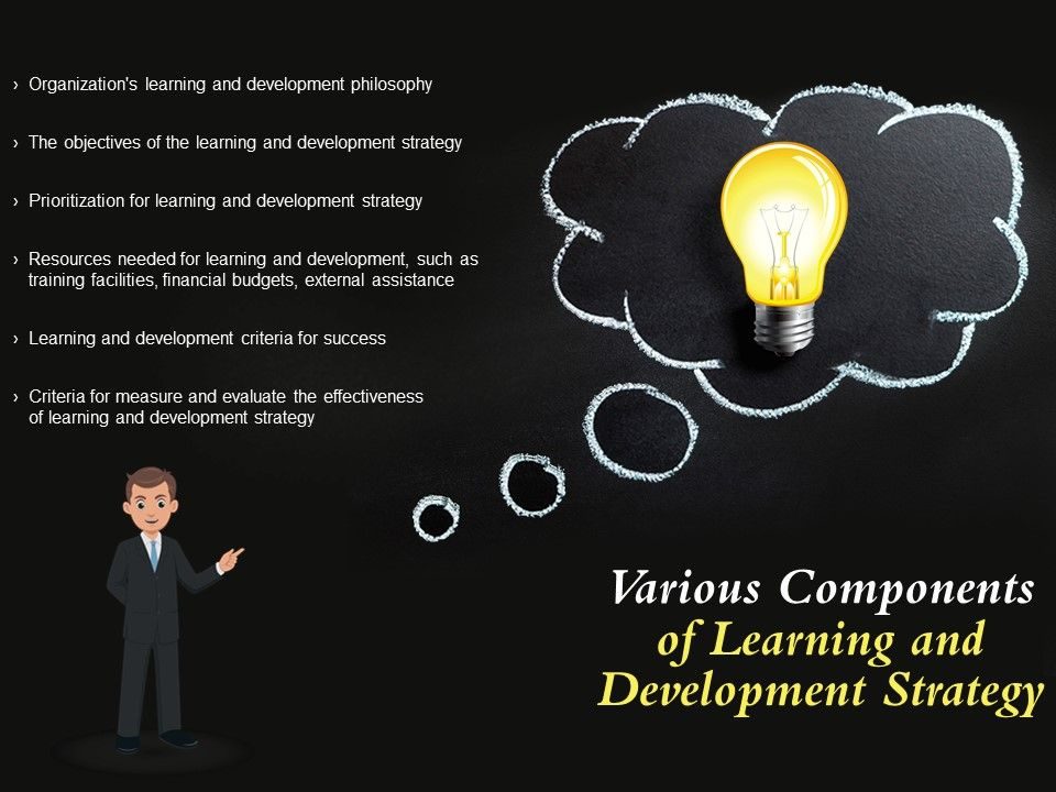 Various Components Of Learning And Development Strategy