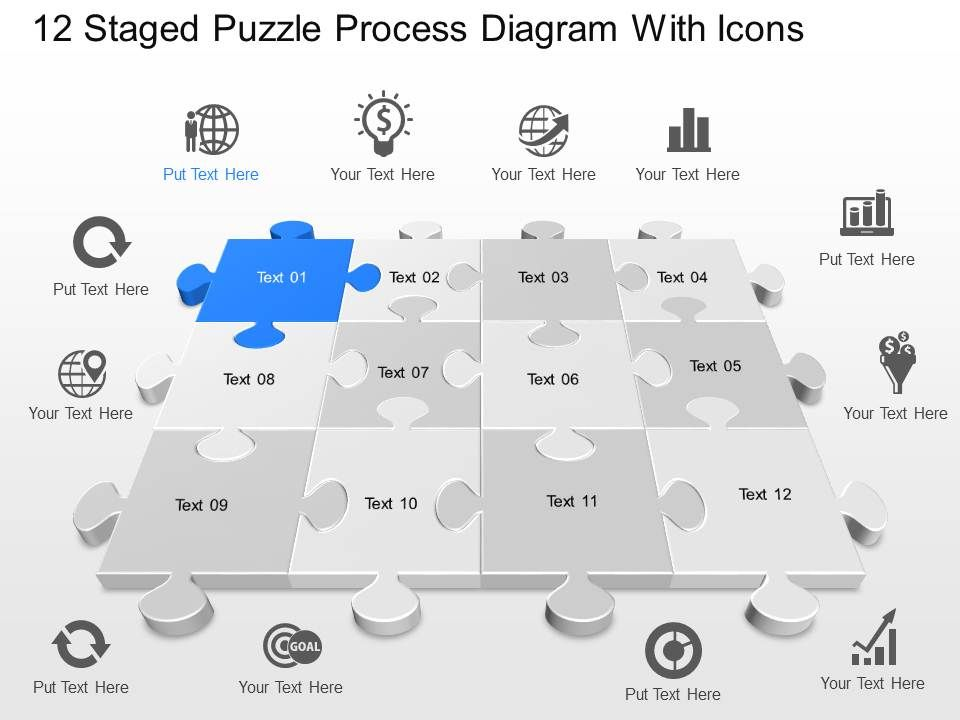 vd_12_staged_puzzle_process_diagram_with_icons_powerpoint_template_Slide01