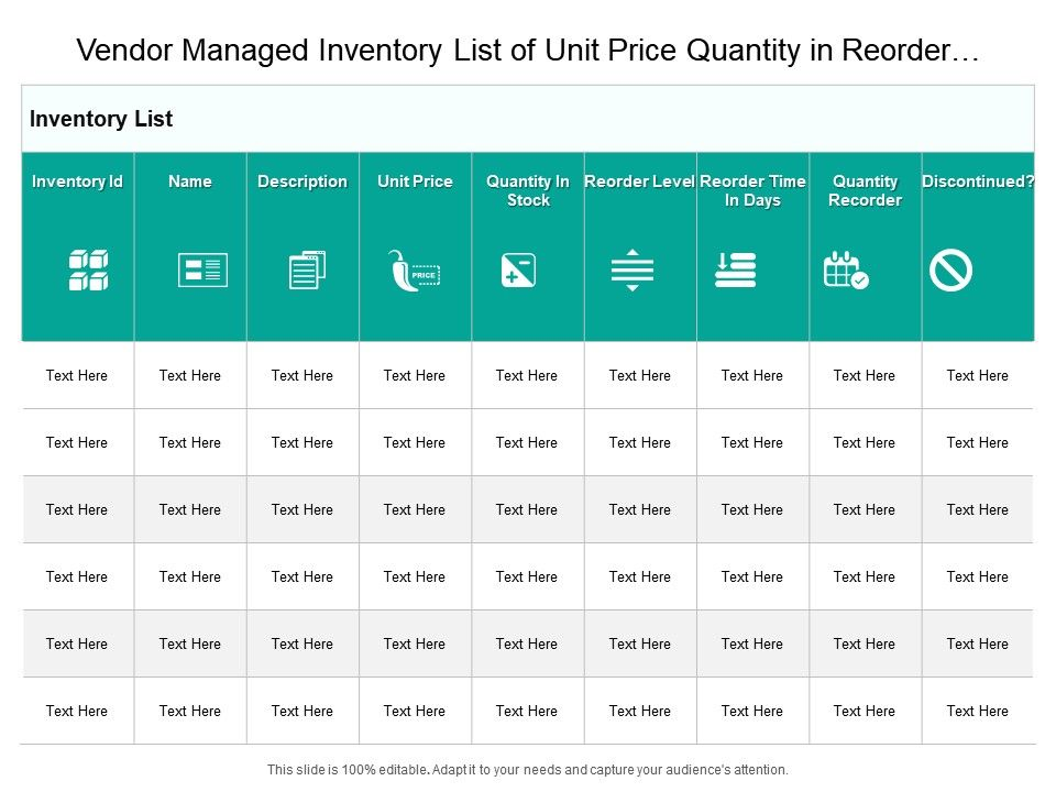 vendor_managed_inventory_list_of_unit_price_quantity_in_reorder_Slide01