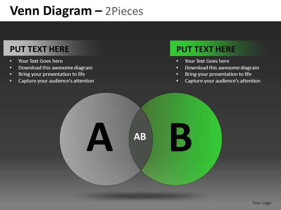 venn_diagram_2_and_3_pieces_powerpoint_presentation_slides_db_Slide01