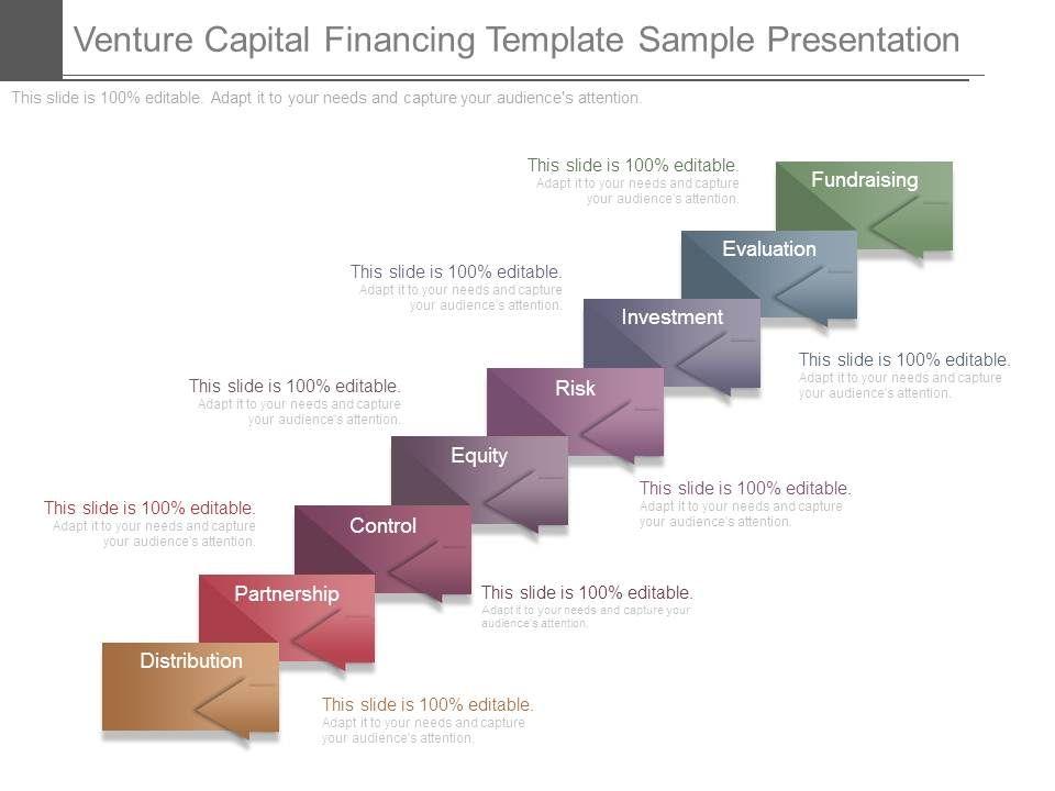 Venture Capital Financing Template Sample Presentation PowerPoint - Venture capital website template