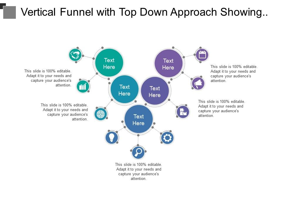 vertical_funnel_with_top_down_approach_showing_different_sections_for_process_phases_Slide01
