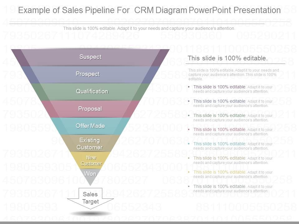 sales funnel template powerpoint