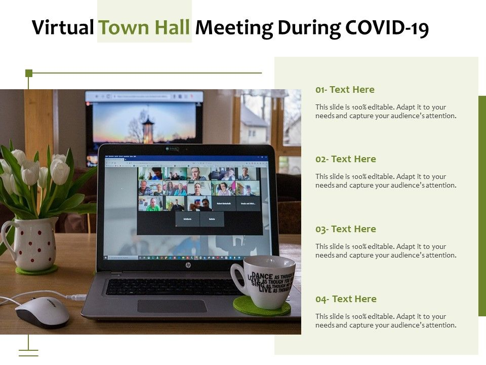 Virtual Town Hall Meeting During COVID 19