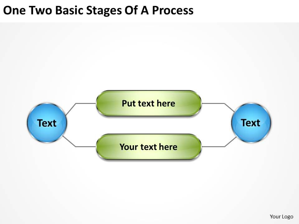 vision_business_process_diagram_two_basic_stages_of_powerpoint_templates_Slide01