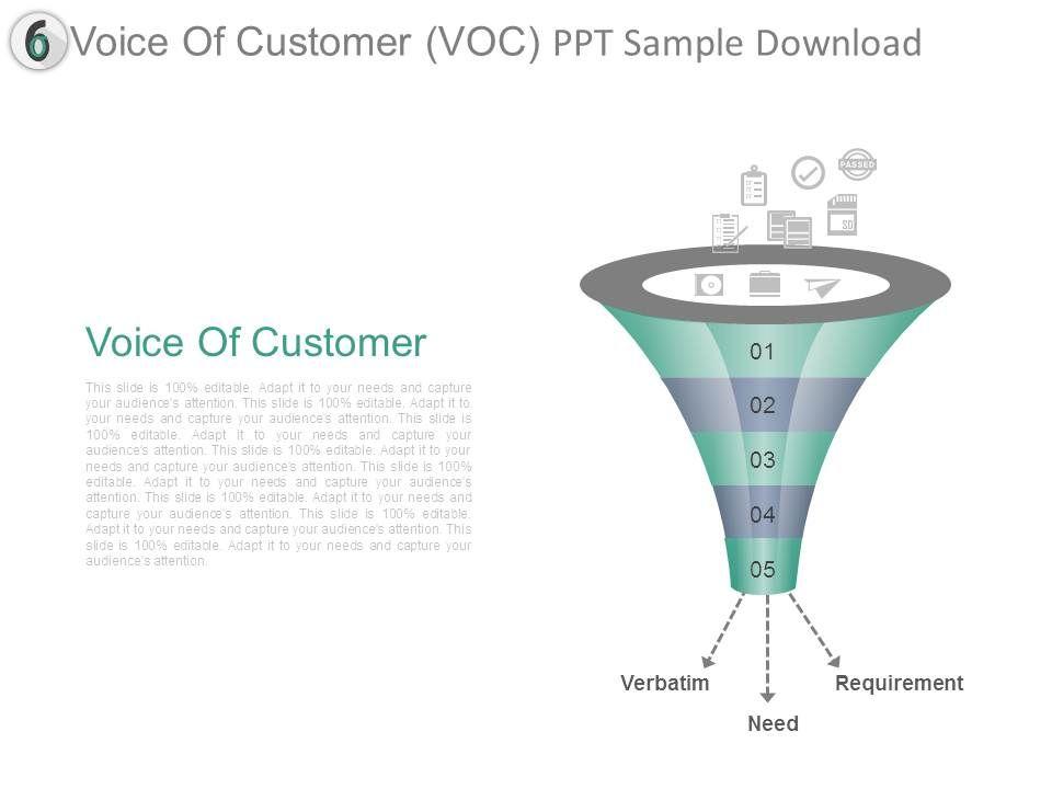 voice_of_customer_voc_ppt_sample_download_Slide01