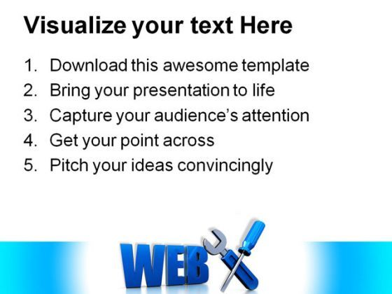 Web Design Internet PowerPoint Templates And PowerPoint Backgrounds 0111  Presentation Themes and Graphics Slide03