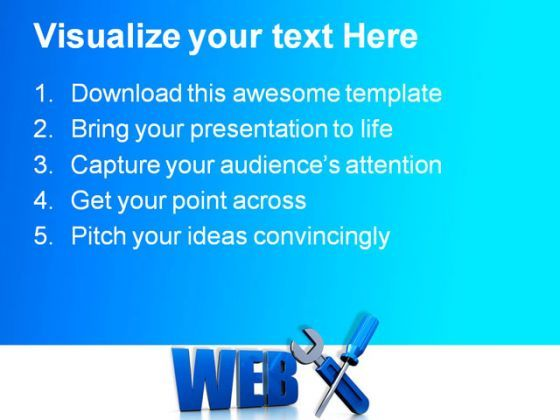 Web Design Internet PowerPoint Templates And PowerPoint Backgrounds 0111  Presentation Themes and Graphics Slide02