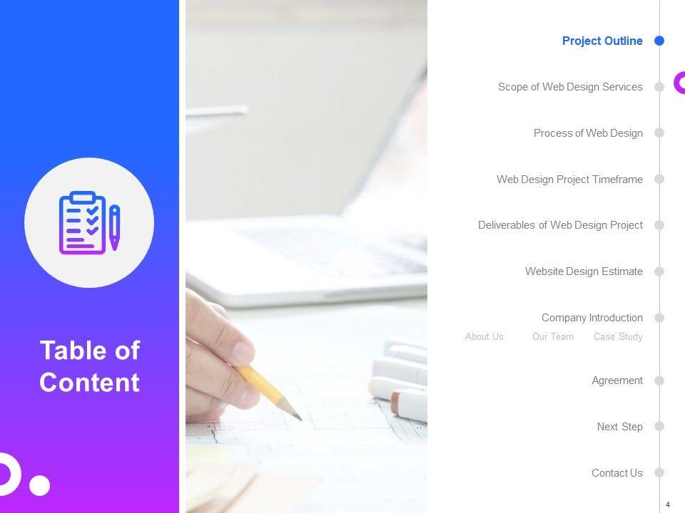 Web Design Proposal Template Powerpoint Presentation Slides Presentation Powerpoint Templates Ppt Slide Templates Presentation Slides Design Idea