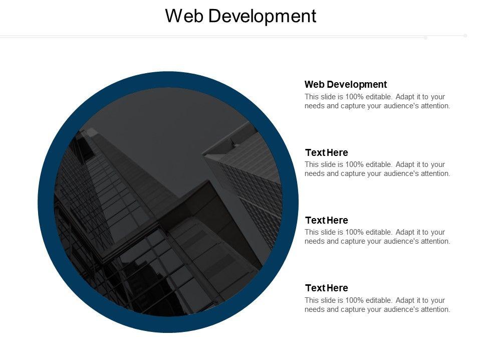 Web Development Ppt Powerpoint Presentation Infographics Graphics Download Cpb