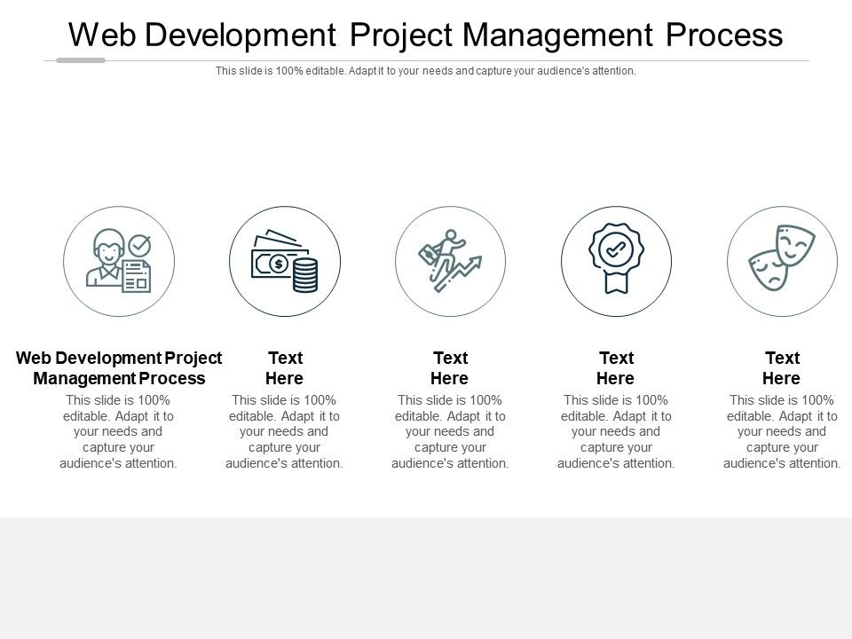 Web Development Project Management Process Ppt Powerpoint Presentation Show Slideshow Cpb