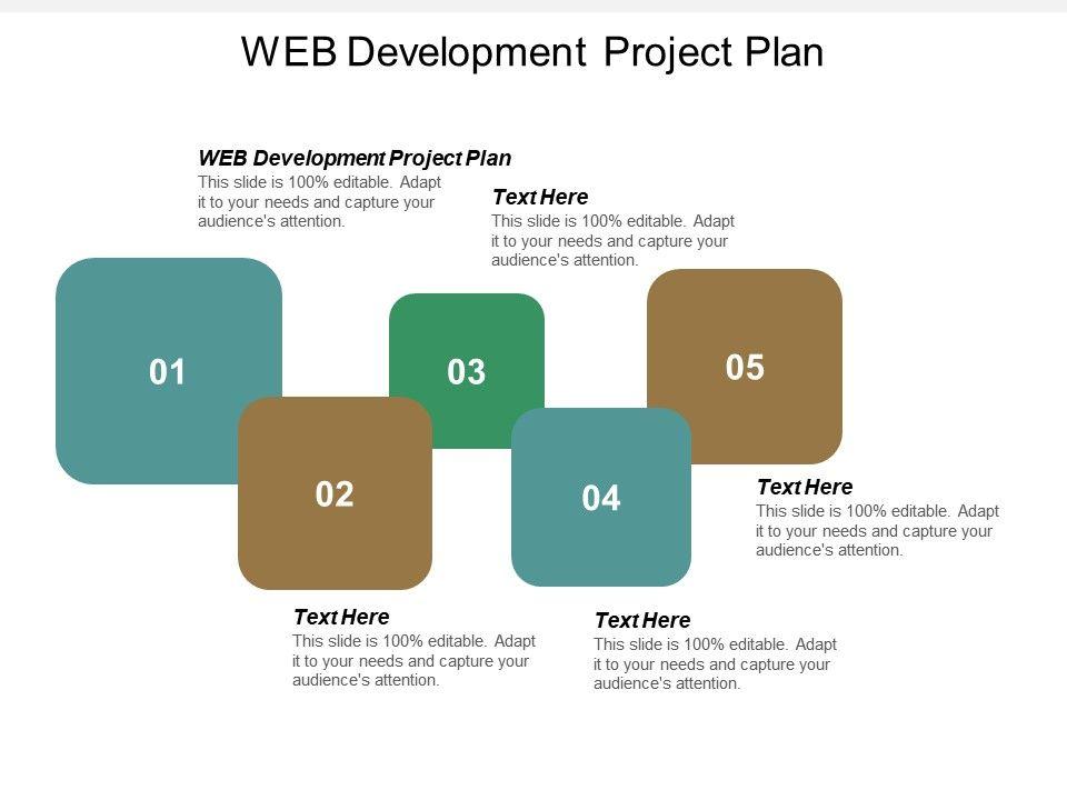 Web Development Project Plan Ppt Powerpoint Presentation Icon Deck Cpb