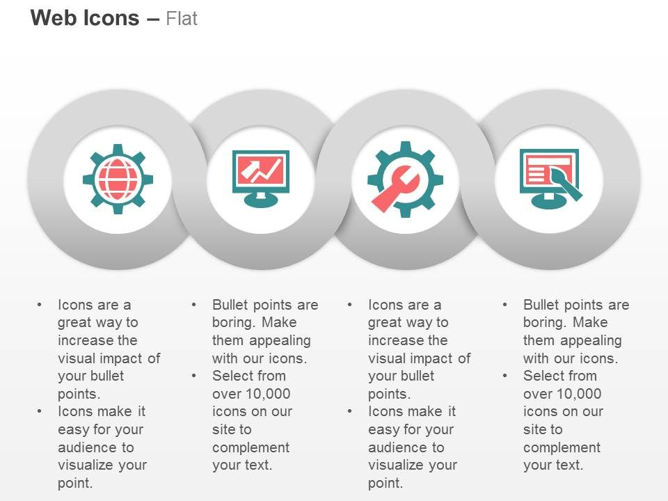 web_development_seo_monitoring_content_optimization_web_design_ppt_icons_graphics_Slide01