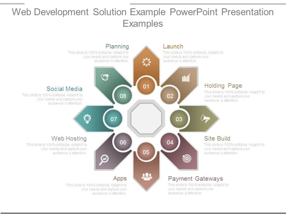 Web Development Solution Example Powerpoint Presentation Examples
