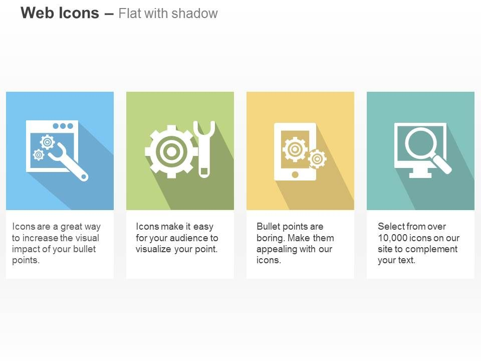 web_tools_gear_wrench_data_search_ppt_icons_graphics_Slide01