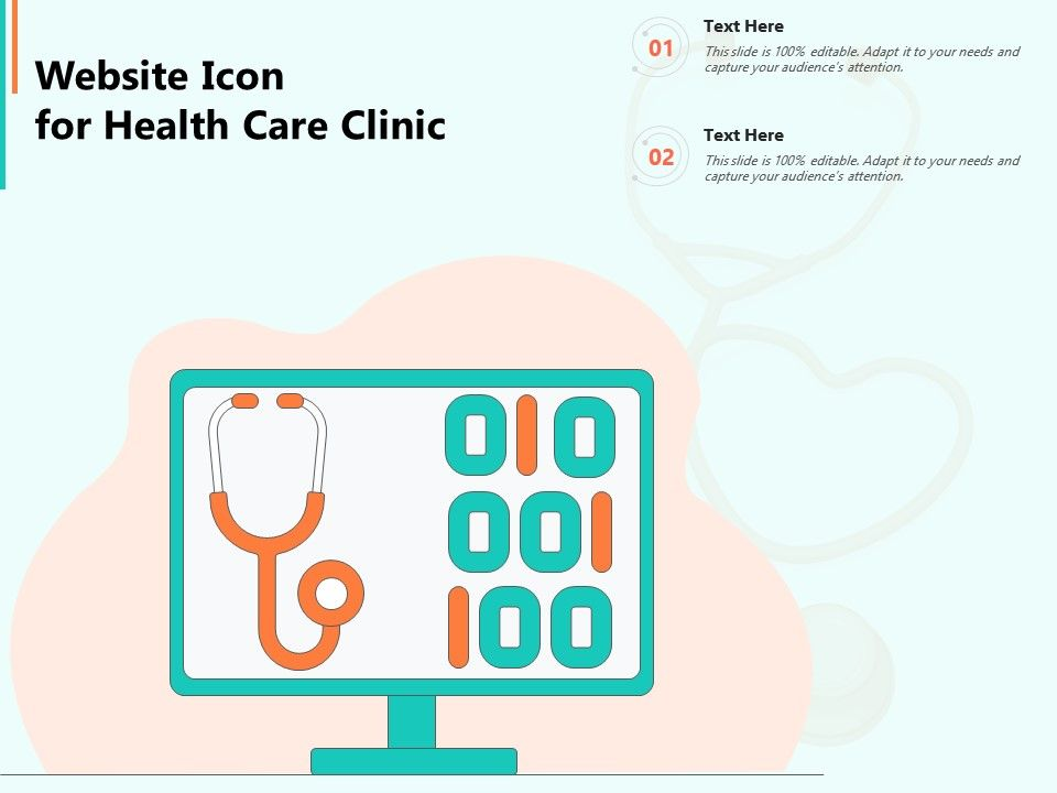 Website Icon For Health Care Clinic