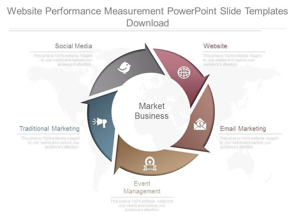 website_performance_measurement_powerpoint_slide_templates_download_Slide01