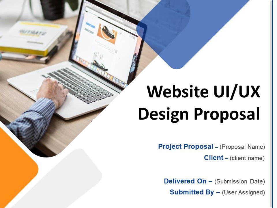 Website UIUX Design Proposal Powerpoint Presentation Slides