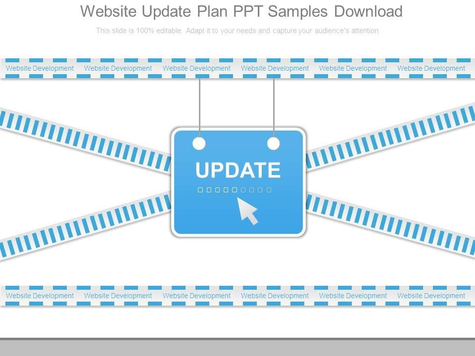 website_update_plan_ppt_samples_download_Slide01