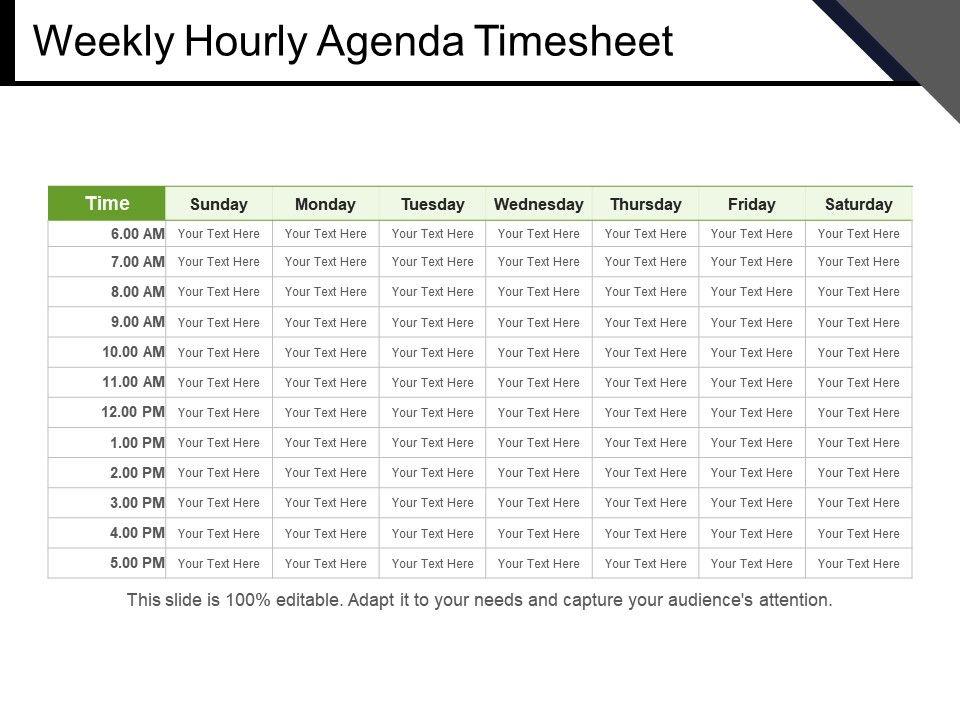 weekly_hourly_agenda_timesheet_powerpoint_slides_Slide01