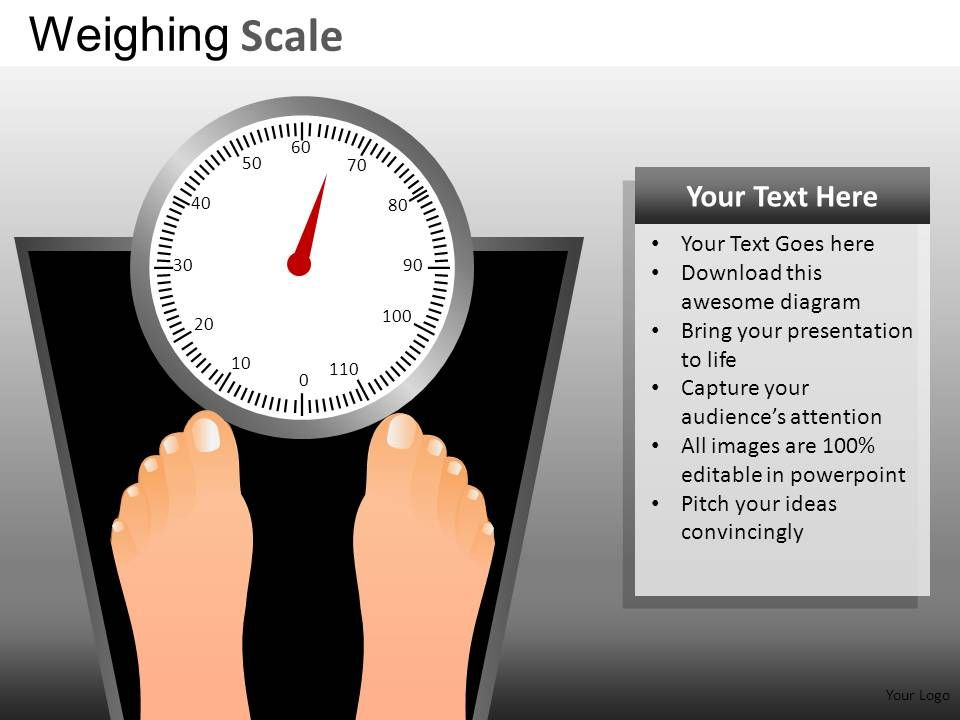 Weighing Scale Powerpoint Presentation Slides DB | PowerPoint Slide