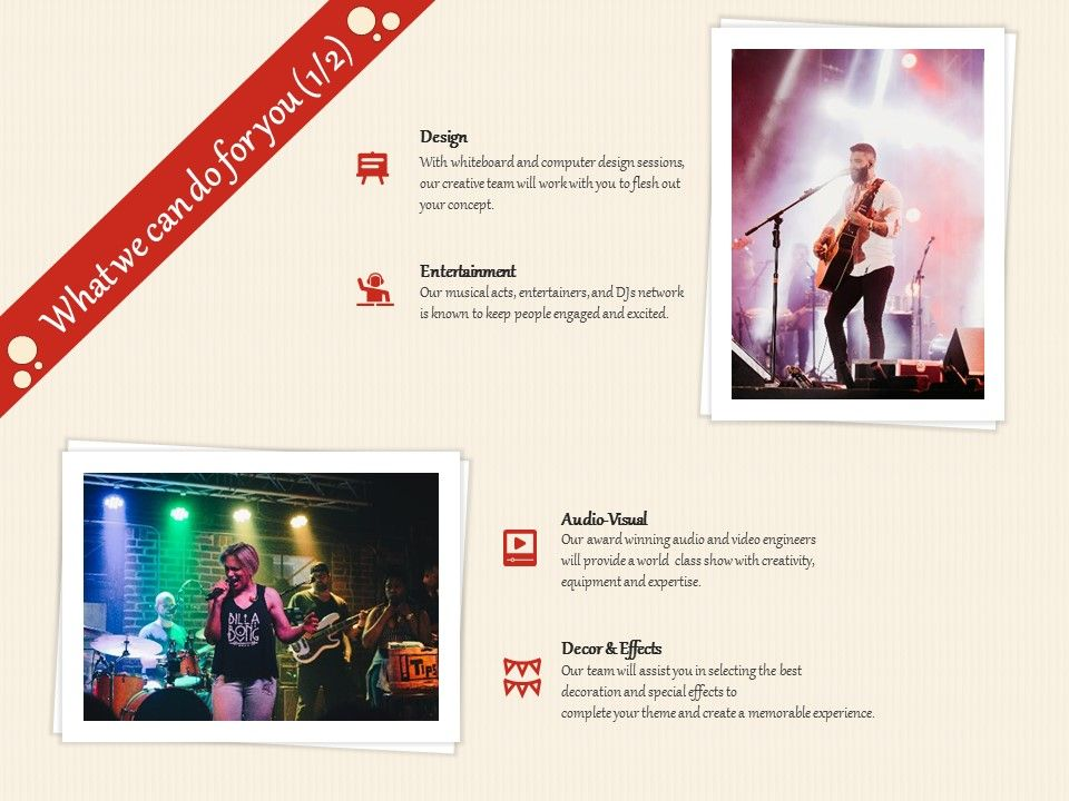What We Can Do For You Design Ppt Powerpoint Presentation Layouts Show