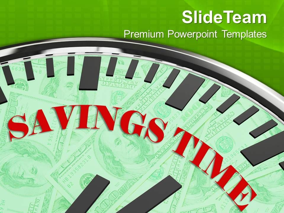 white_clock_with_savings_time_business_powerpoint_templates_ppt_themes_and_graphics_0213_Slide01