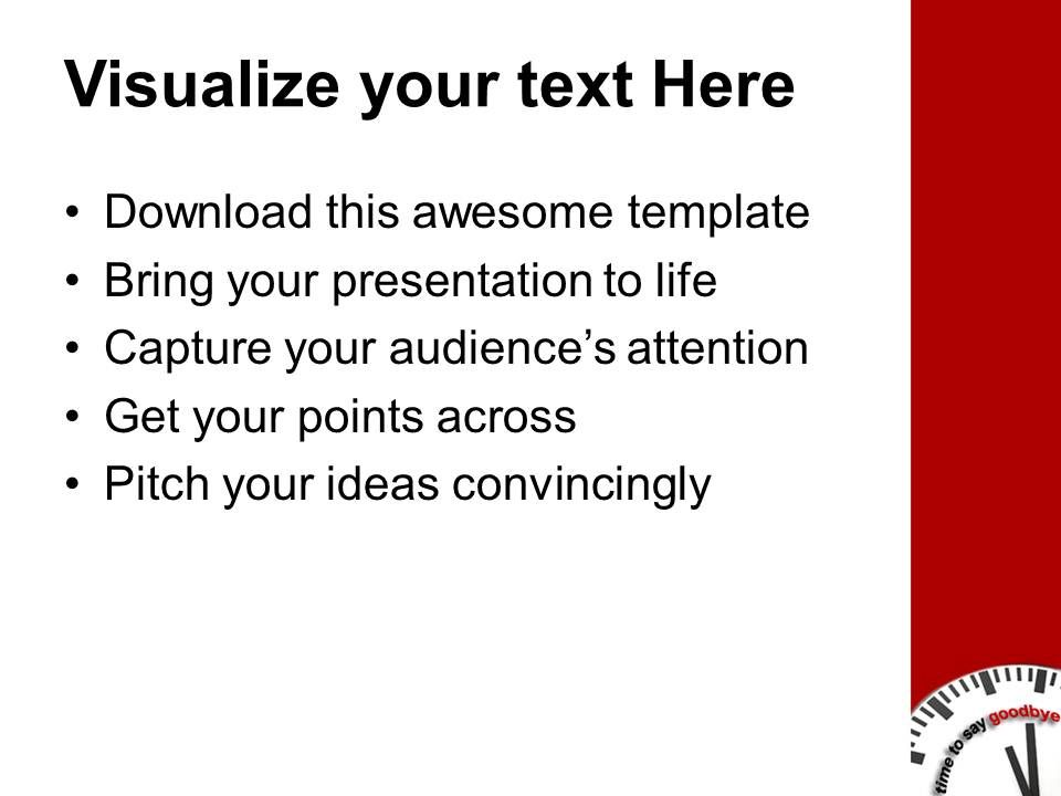 Powerpoint goodbye template to say goodbye powerpoint templates ppt backgrounds for slides 0213 m4hsunfo