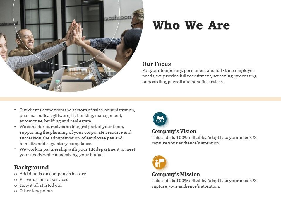 Who We Are L1430 Ppt Powerpoint Presentation Portfolio Pictures