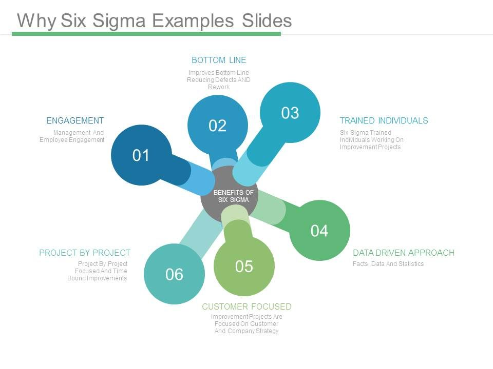 Why Six Sigma Examples Slides | PowerPoint Presentation