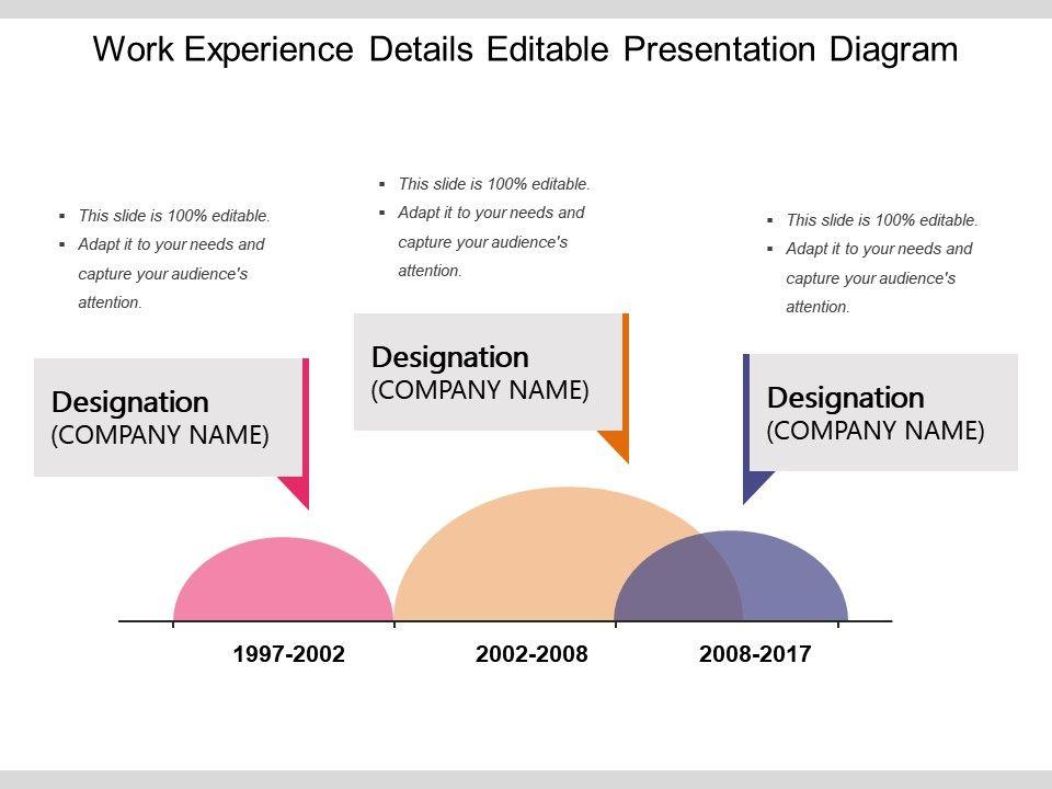 work_experience_details_editable_presentation_diagram_Slide01