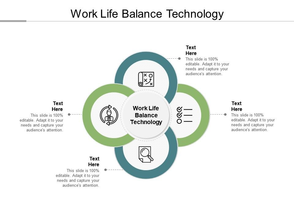 Work Life Balance Technology Ppt Powerpoint Presentation Images Cpb