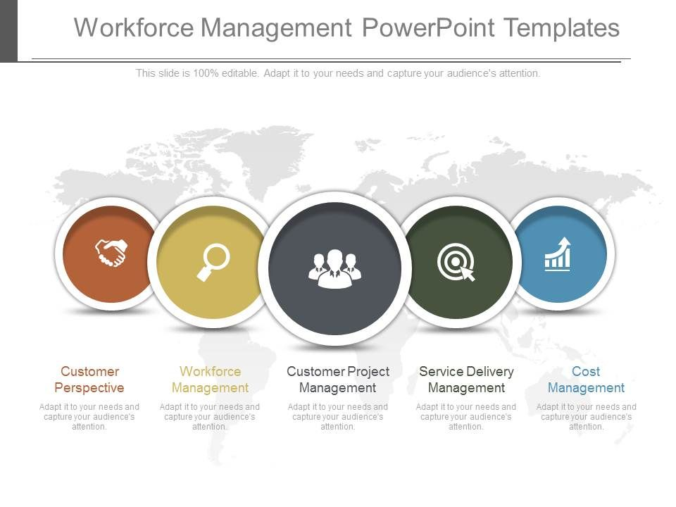 workforce management powerpoint templates powerpoint presentation designs slide ppt graphics. Black Bedroom Furniture Sets. Home Design Ideas