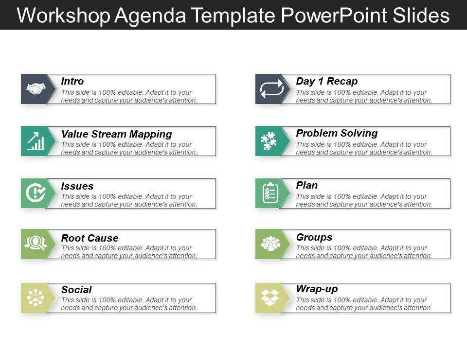 Work Agenda Template Point Slides Slide01 Slide02 Slide03