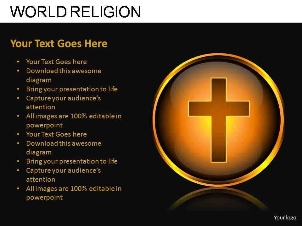 World Religion Powerpoint Presentation Slides Graphics