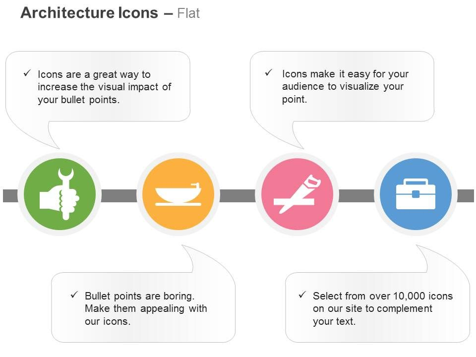 wrench_bath_tub_hand_saw_tool_kit_box_ppt_icons_graphics_Slide01