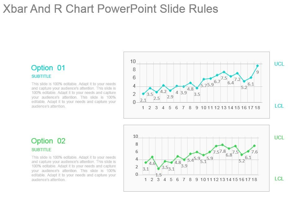 xbar and r chart powerpoint slide rules  powerpoint slide, Presentation