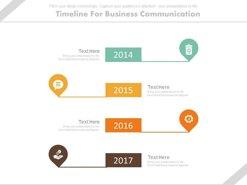 year_based_vertical_timeline_for_business_communication_powerpoint_slides_Slide01