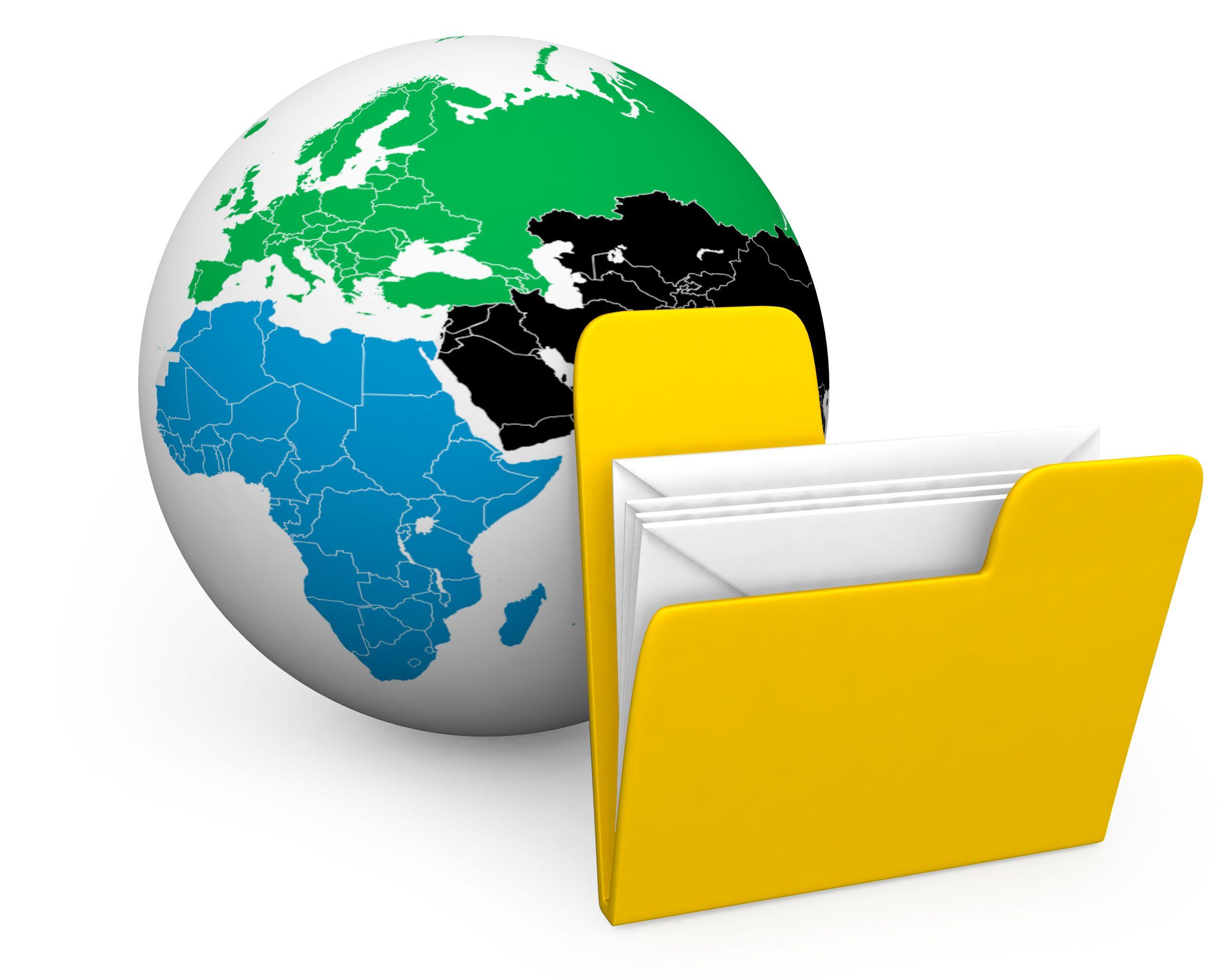 yellow_folder_with_white_envelopes_to_show_global_data_stock_photo_Slide01