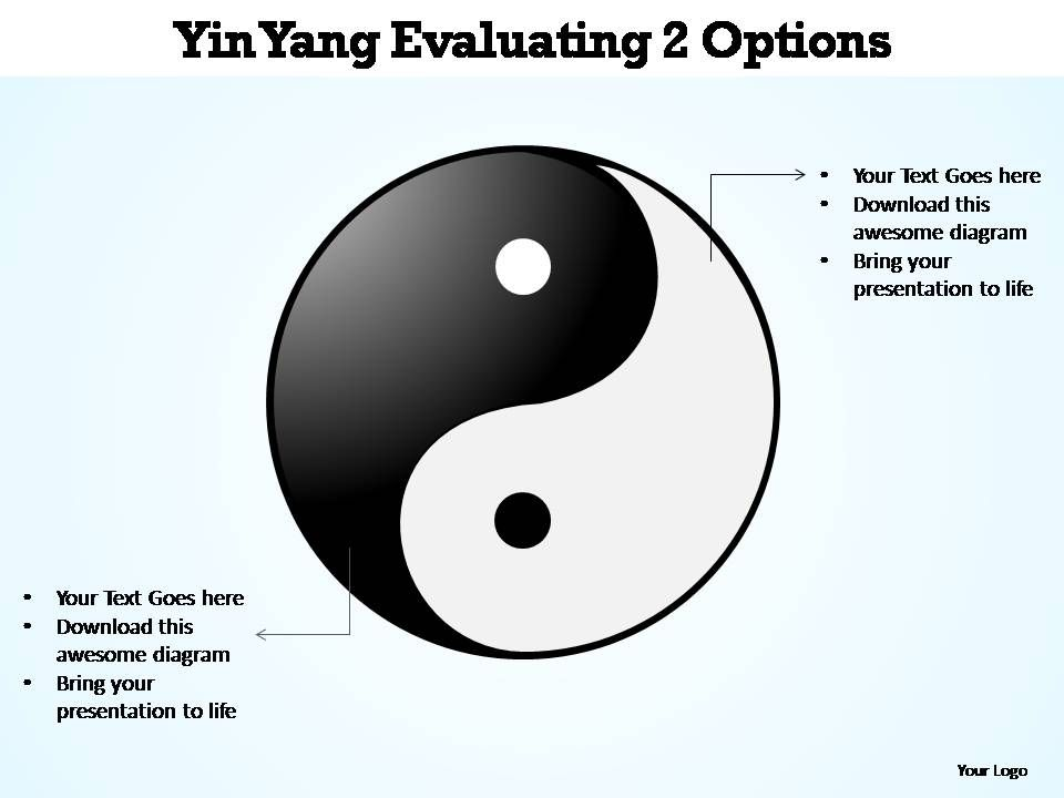 Yin yang evaluating 2 options editable powerpoint templates yin yang evaluating 2 options editable powerpoint templates powerpoint templates ppt slides images graphics and themes toneelgroepblik Gallery