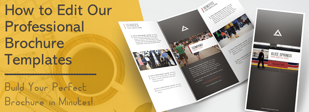 How to Edit Our Collection of Brochure Templates in Just 2 Minutes!
