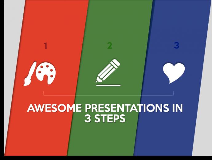 Split Complementary Color Scheme in PowerPoint Design