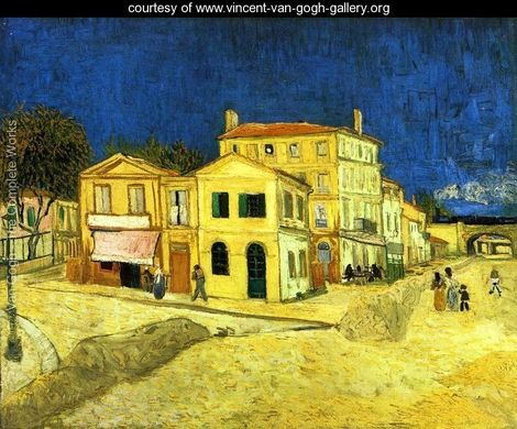 The Yellow House- Vincent Van Gogh Painting