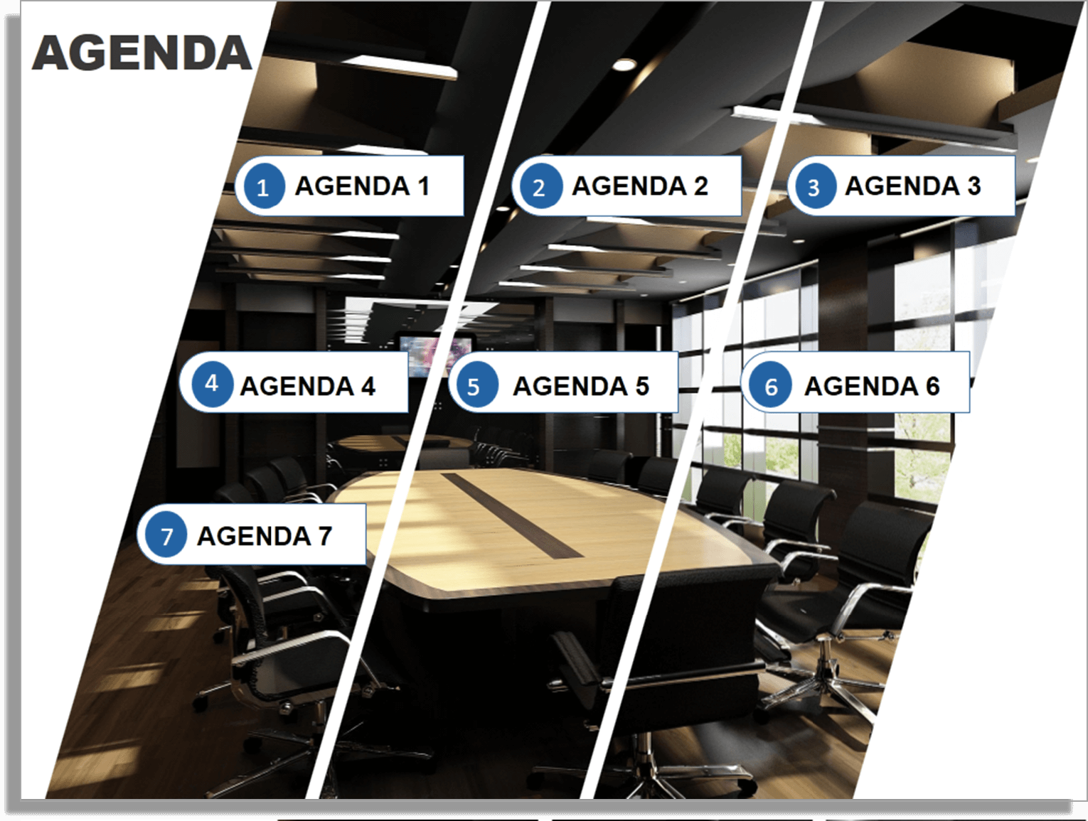 How To Create A Fantastic PowerPoint Agenda Slide Template In 5 Steps  [Presentation Hackathon 4] | The SlideTeam Blog  Creating An Agenda Template