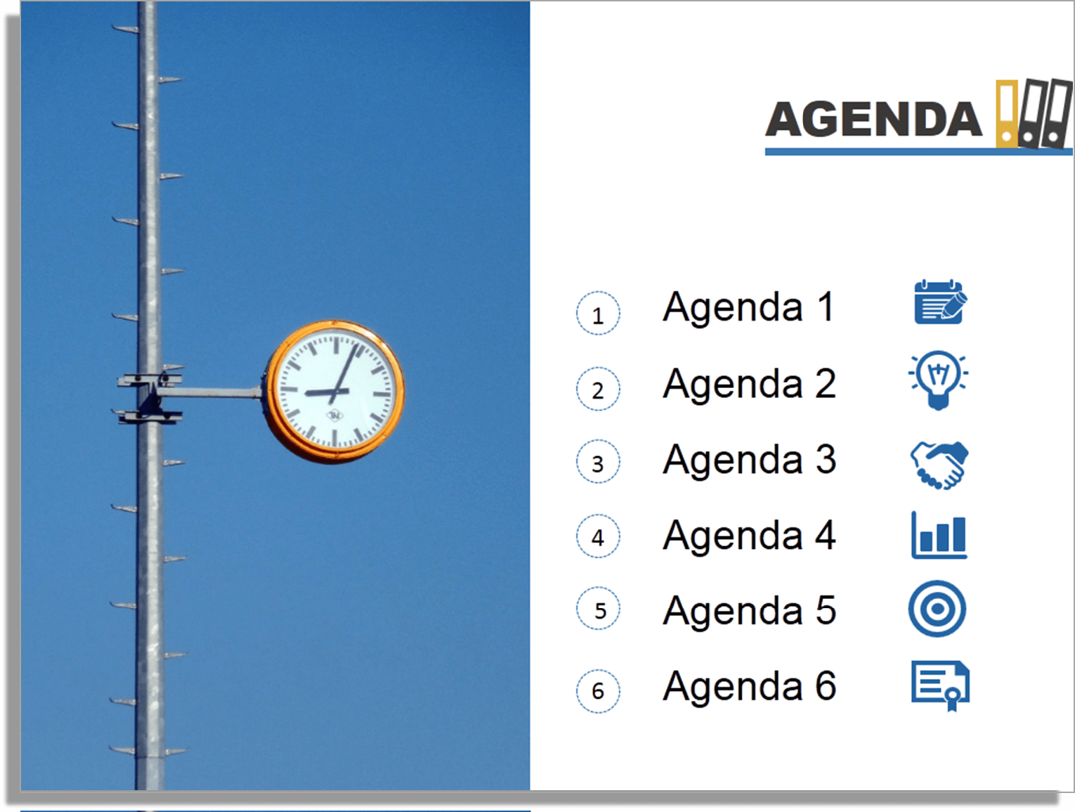 Need More Design Ideas For Agenda Slide?  Cool Agenda Templates