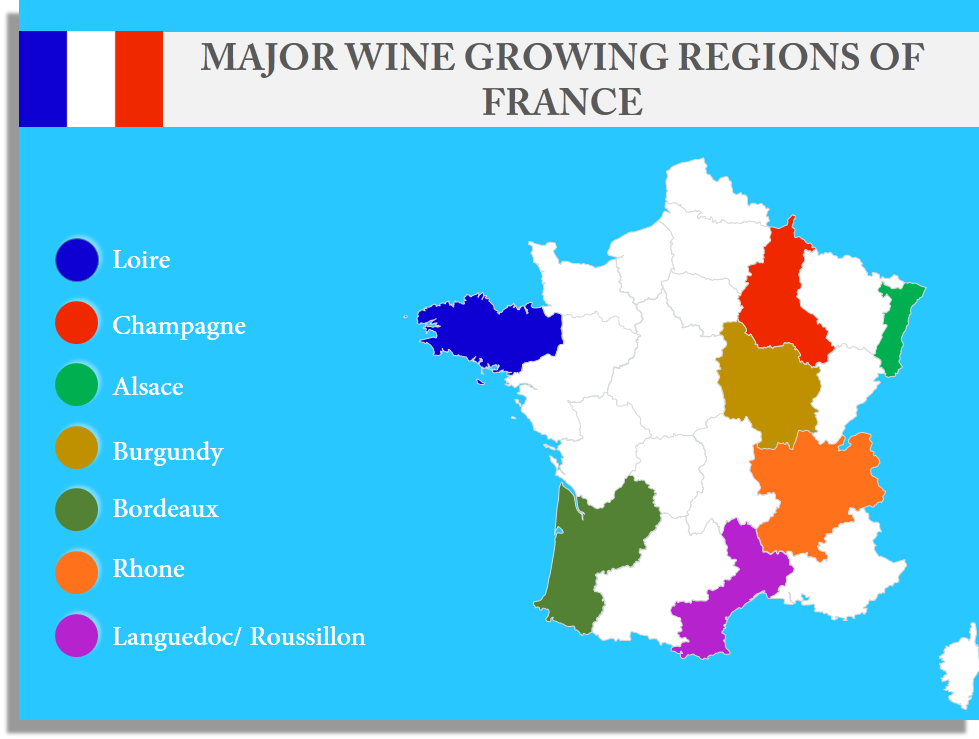 Let S Take Another Example Wine Lovers Pay Attention Want To Know The Most Popular Wine Regions Of France Let Us Show You The Same With A Map
