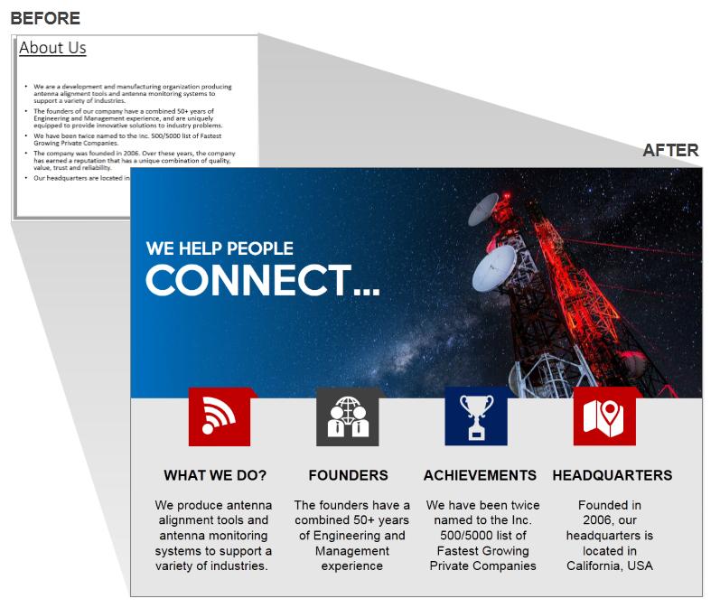corporate powerpoint presentation maggilocustdesignco company
