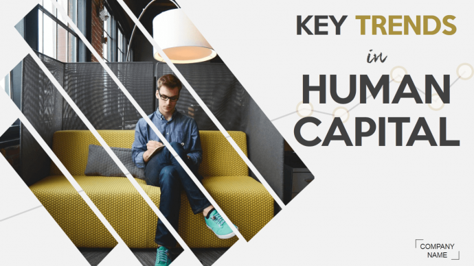 Key Trends in Human Capital slide looks Trendy with this hack