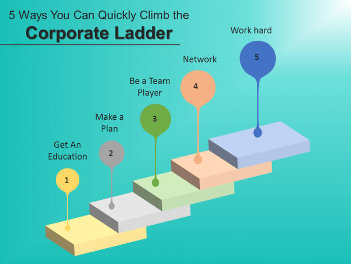 5 Ways to Cimb a Corporate Ladder Slide