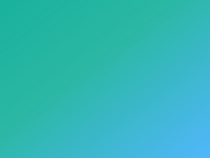 Teal and Blue Gradient Background